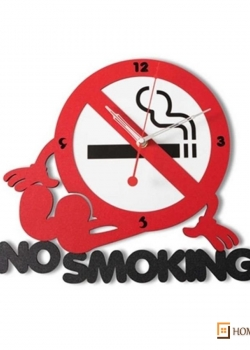 No Smoking Clock
